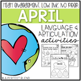 April NO PREP: Language & Articulation