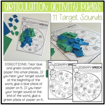 April NO PREP: Language & Articulation