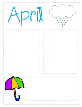 April Newsletter Template