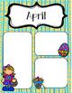April Newsletters *Editable*