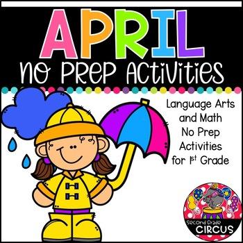 April No Prep (1st Grade)