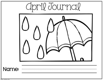 April No Prep Journal Prompts