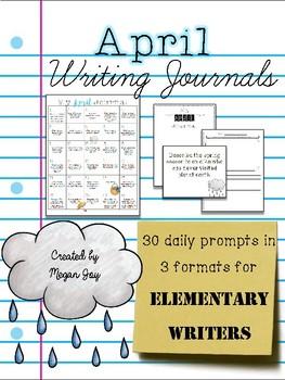 April Bell Ringer Draw & Write Journal