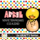 April NonFiction Reading Passages Second Third