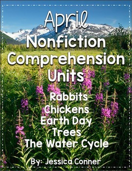 April Nonfiction Comprehension Units