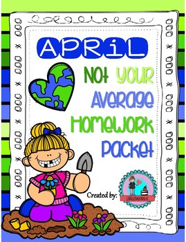 April Not Your Average Homework Packet