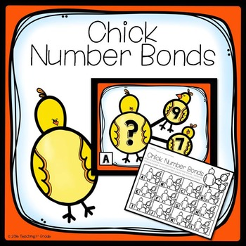 Chick Number Bonds- Write the Room