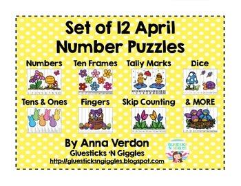 April Number Puzzles