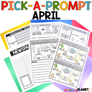 Picture Writing Prompts April