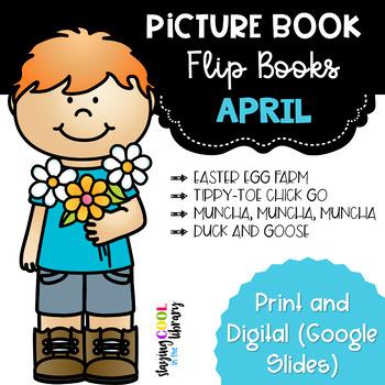 April Picture Book - Flip Book Set