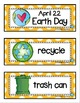 April Picture Word Cards K-3