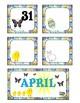 April Pocket Calendar Cards