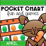 April Pocket Chart Activities