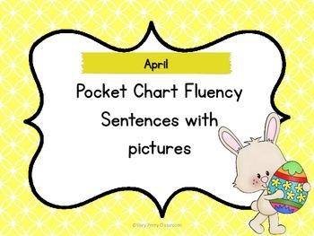 April Pocket Chart Fluency