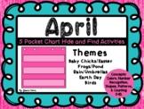 April Math Pocket Chart Games