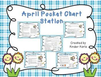 April Pocket Chart Station