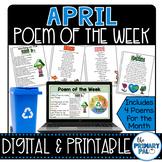 April Poem and Book Set
