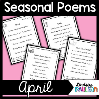 April Poems & Shared Reading