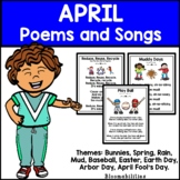 April Poems and Songs for Poetry Unit (Printable)