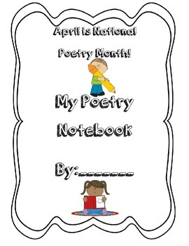 April Poetry Notebook pack