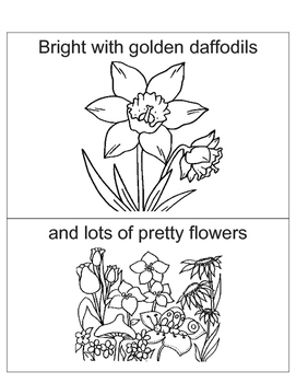 April PreK Poem
