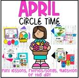 April Preschool Circle Time