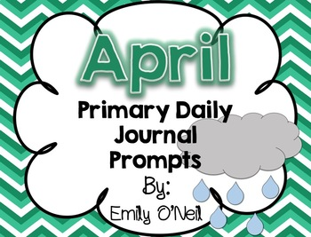 April Primary Daily Journal Prompts