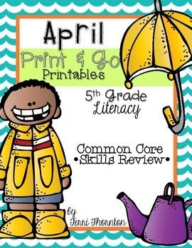 April Print & Go: Literacy