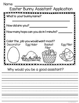 April Print and Go Activities