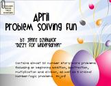 April Problem Solving Fun for the Promethean Board (ActivBoard)