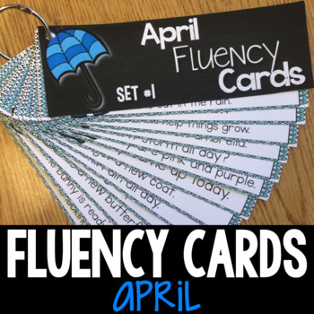 April Progressive Fluency Cards