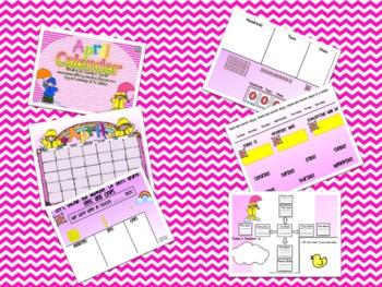 April Promeathean Board Calendar