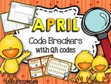 April QR Code Breakers  - Sight Word Work