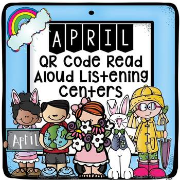 April QR Code Listening Center Read Alouds