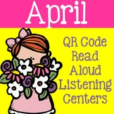 April QR Code Read Aloud Listening Centers
