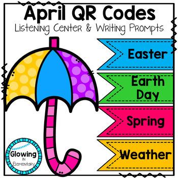 April QR Codes Listening Center Bundle