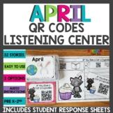 April QR Codes Listening Center
