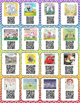 April QR codes