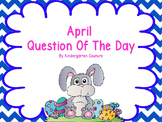 April Question Of The Day For Smart Board