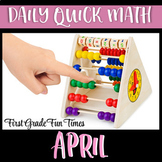April Quick Math Spring Activities