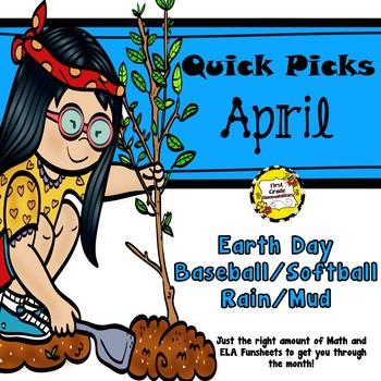 April Quick Picks: Budget-Friendly ELA and Math Funsheets