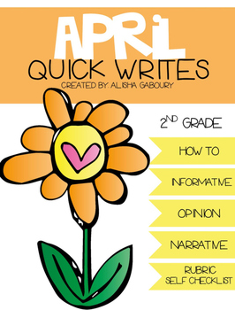 April Quick Writes