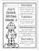 April Quick Writes