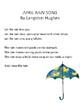 April Rain Song Poetry Activities