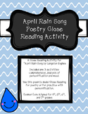 April Rain Song Poetry Close Reading