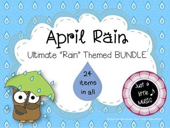 April Rain--Ultimate Rain Themed BUNDLE of 24 melody & rhythm products