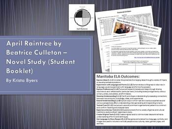 April Raintree - Beatrice Culleton - Student Booklet