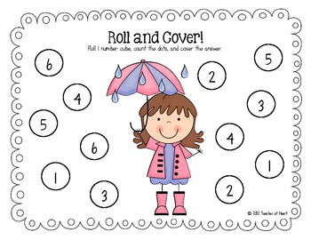 April {Rainy Day Fun} Roll and Cover