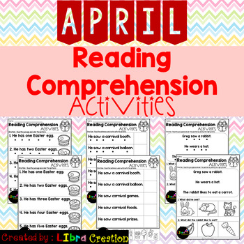 April Reading Comprehension Activities