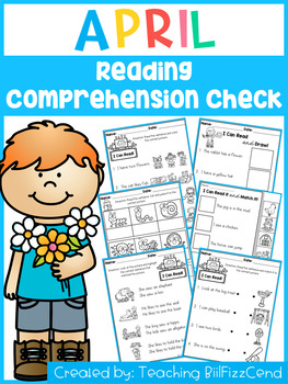 April Reading Comprehension Check (SET 1)